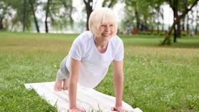 cvičenie seniorov