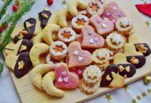 vianočné orechové cukrovinky